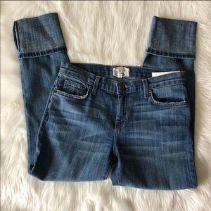 Current/Elliott Pants - Current Elliot The Cuffed Skinny Jeans